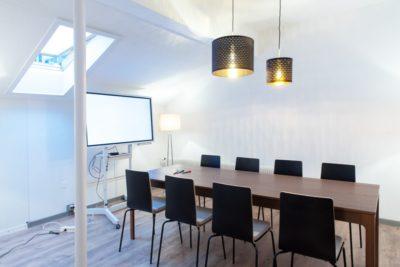 Der Meetingraum für 8 Personen